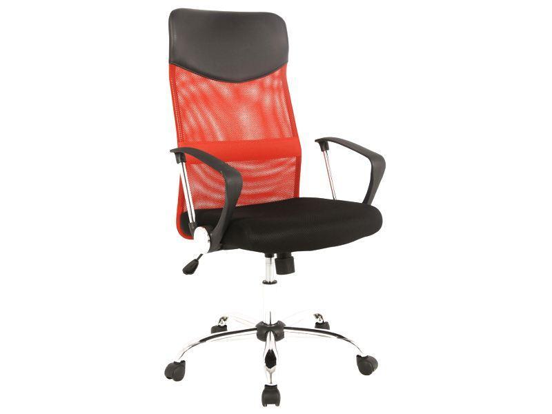 Fotel biurowy z mechanizmem kołyskowym