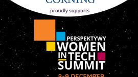 Corning zaprasza na spotkania z ekspertkami podczas Women in Tech Summit